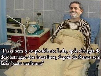 Lula após operação