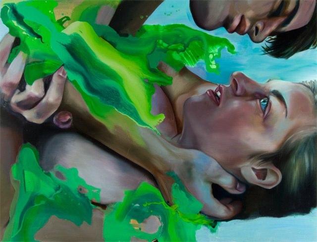 A arte cativante de Angela Fraleigh