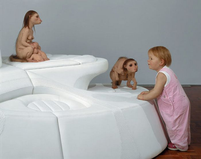 A arte desconcertante de Patricia Piccinini