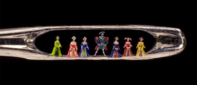 A arte microscópica de Willard Wigan 07