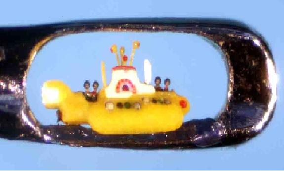 A arte microscópica de Willard Wigan 10