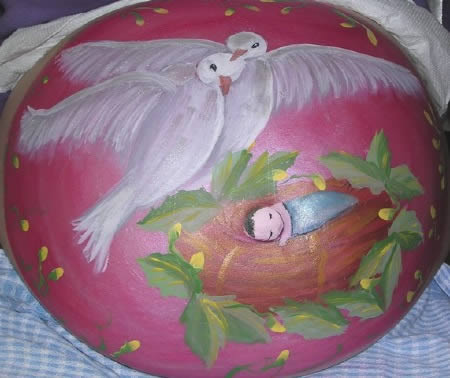 Bellyart, as pinturas mais originais em barriguinhas de grávidas