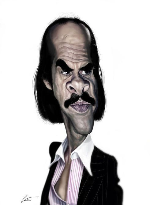 Caricaturas engraçadas de famosos de Marco Calcinaro 04