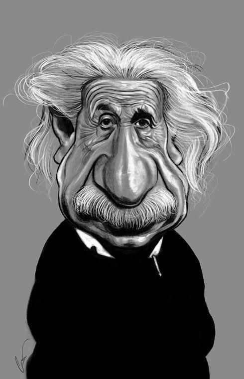 Caricaturas engraçadas de famosos de Marco Calcinaro 17