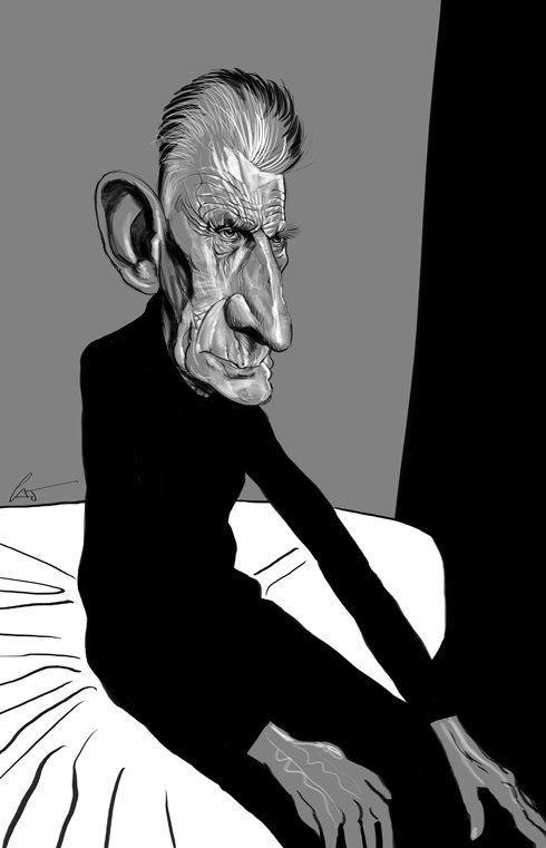 Caricaturas engraçadas de famosos de Marco Calcinaro 19