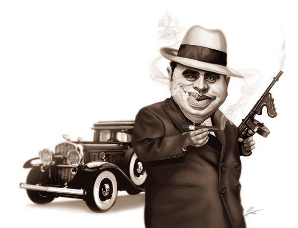 Caricaturas engraçadas de famosos de Marco Calcinaro 24