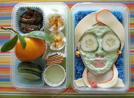 Arte em comida 05