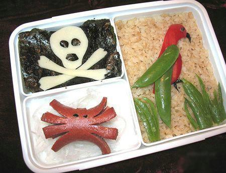 Arte em comida 10