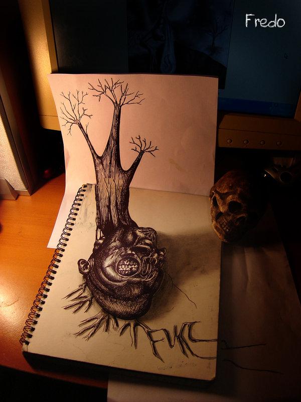 Desenhos 3D incr�veis 01