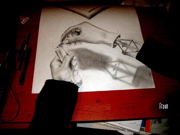 Desenhos 3D incr�veis 02