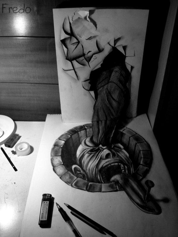 Desenhos 3D incr�veis 05