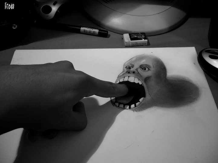 Desenhos 3D incr�veis 07