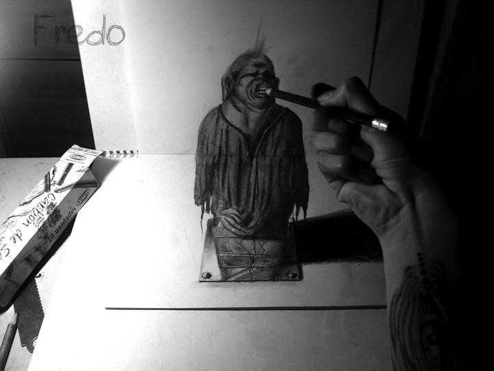 Desenhos 3D incr�veis 14