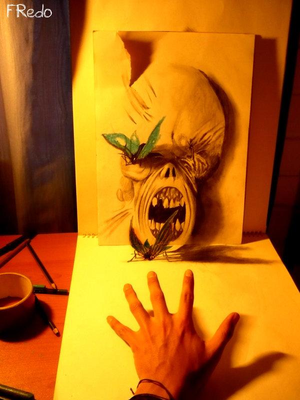 Desenhos 3D incr�veis 16