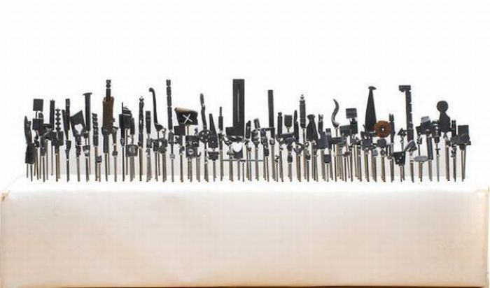 Esculturas com Lápis