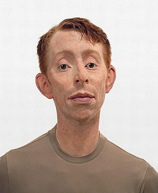 As esculturas hiper-realistas Evan Penny