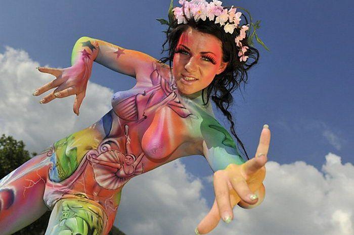 Festival Internacional de Bodypainting 2010