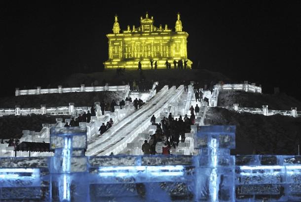 Festival de esculturas no gelo