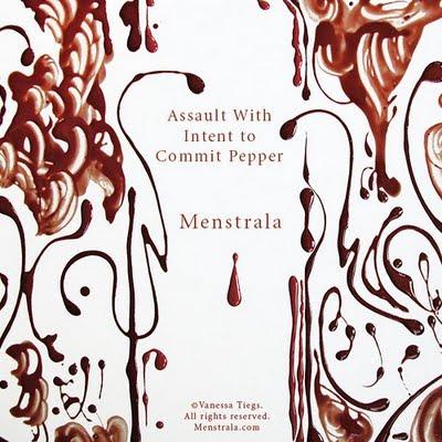 Menstrala: fazendo arte com sangue menstrual