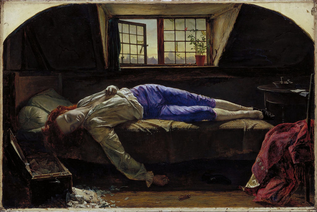 Chatterton, o rei do suicídio