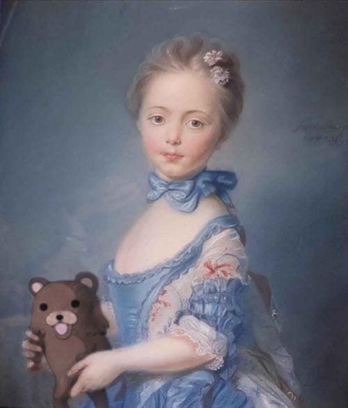 Remakes modernos de pinturas clássicas