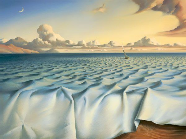 Arte de Vladimir Kush_Crian�as do ex�do 06