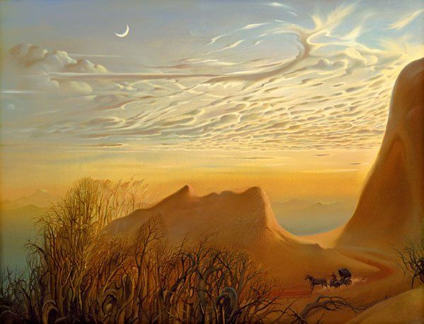 Arte de Vladimir Kush_Crian�as do ex�do 26