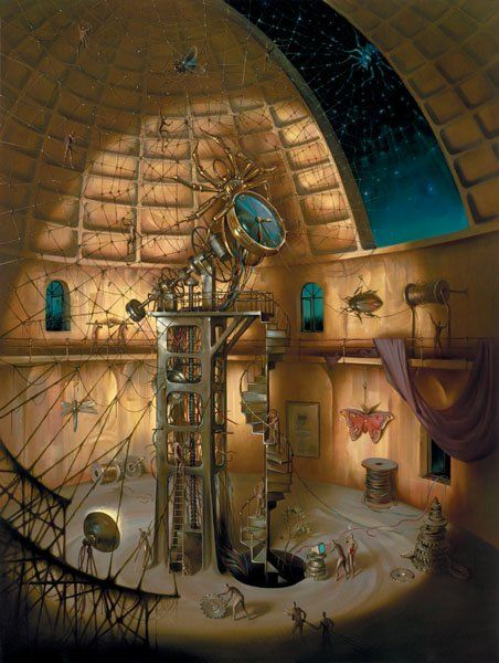 Arte de Vladimir Kush_Crian�as do ex�do 27