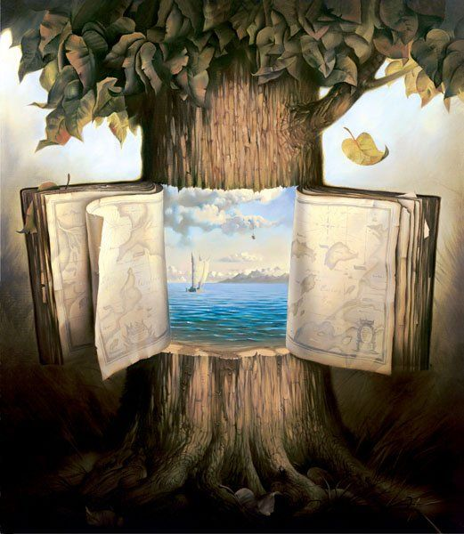 Arte de Vladimir Kush_Crian�as do ex�do 32