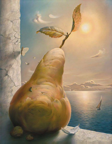 Arte de Vladimir Kush_Crian�as do ex�do 34