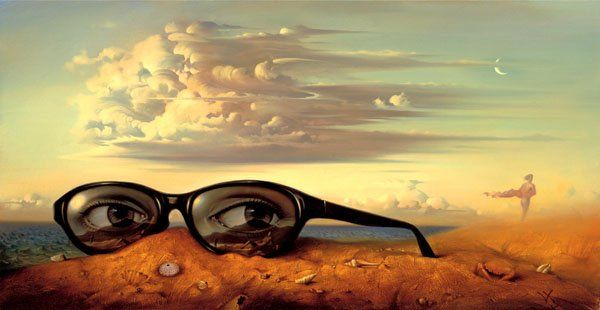 Arte de Vladimir Kush_Crian�as do ex�do 36