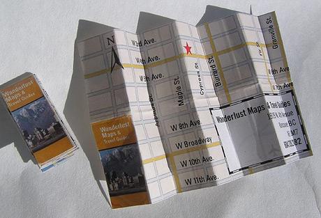 Mapas e guias de viagem