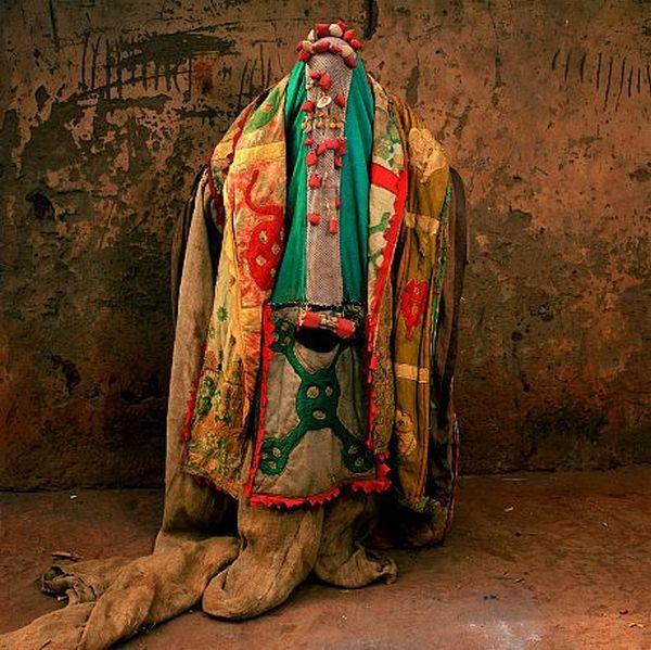 Trajes de cerimoniais africanos