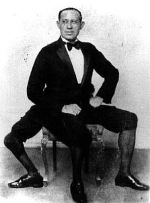 Frank Lentini, o tripé humano