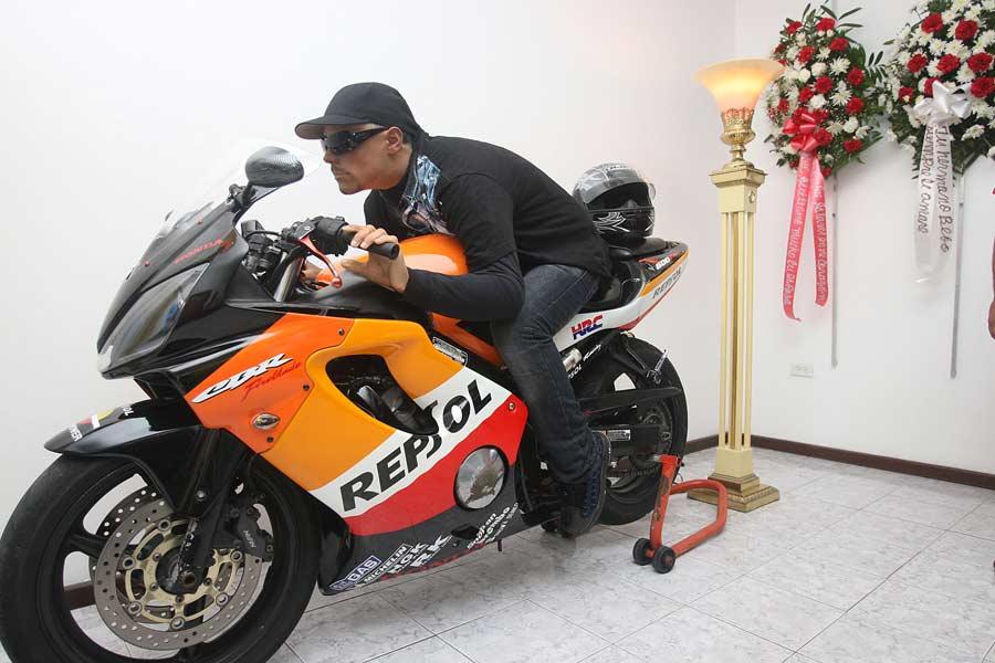 Velório do motoqueiro