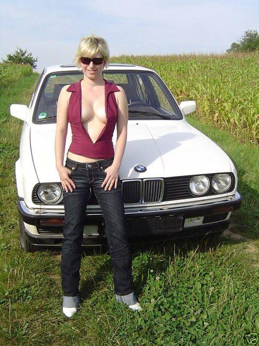 Vendendo o velho carro com uma ajudinha da namorada 07