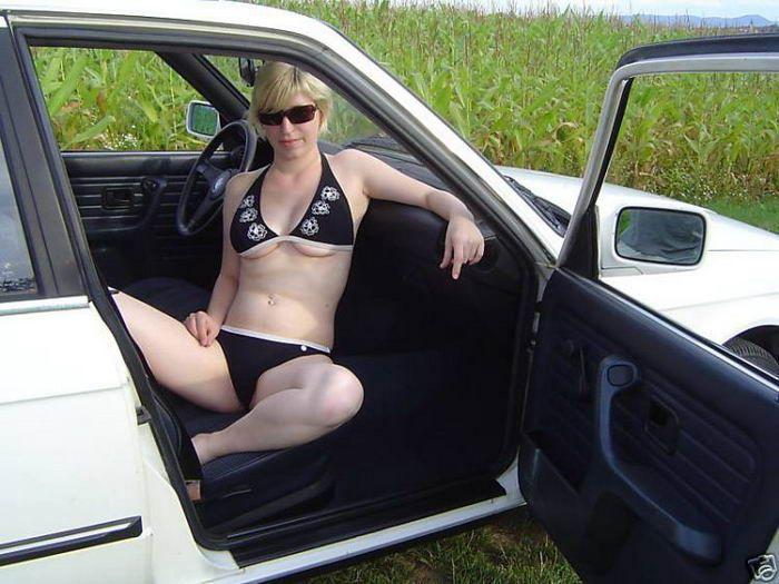 Vendendo o velho carro com uma ajudinha da namorada 10