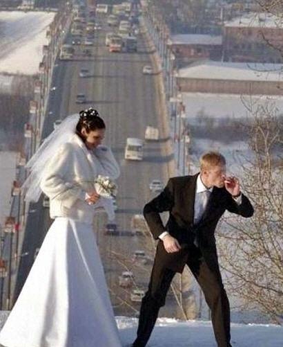 Fotos proibidas de casamento
