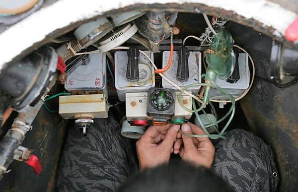 Como construir um submarino caseiro com sucata?