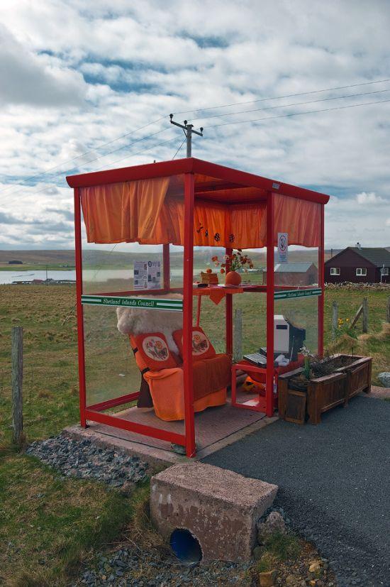 O ponto de ônibus mais confotável do mundo