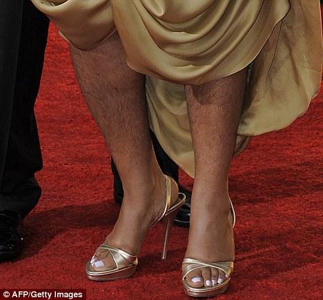 Pernas peludas de Mo'Nique