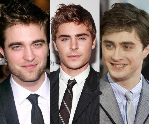 Efron, Pattinson ou Radcliffe. Quem será o próximo homem-aranha?