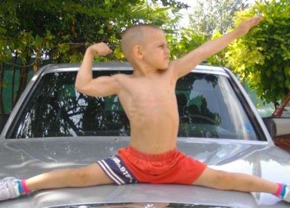 O garoto mais forte do mundo