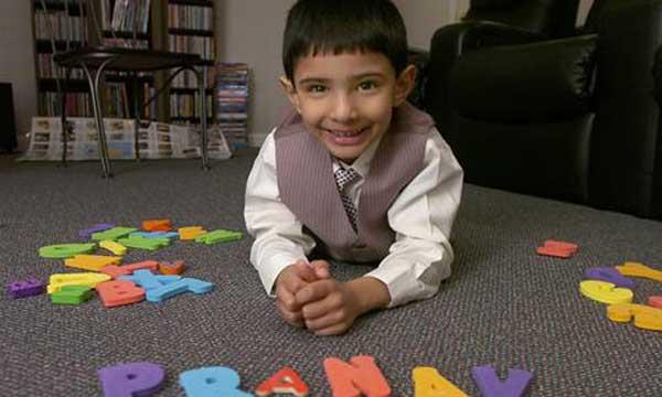 Menino com seis anos é mais inteligente que Einstein