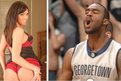 Quem ganhou a aposta, o jogador de basquete ou a atriz pornô?