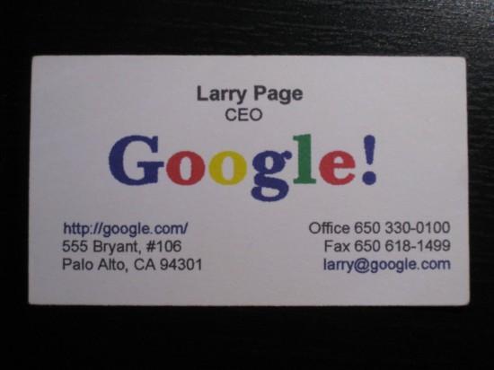 Cartao de visita de Larry Page.jpg