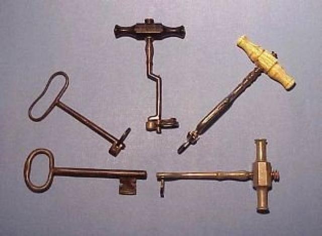 Antigas ferramentas de dentistas