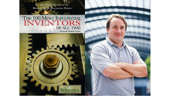 Linus Torvalds, um dos 100 criadores mais influentes de todos os tempos