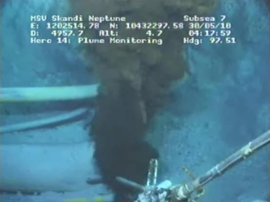 Vazamento de petróleo no golfo