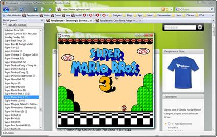 Firefox como Emulador do Nintendo
